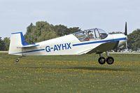 G-AYHX @ EGBK - 1958 SAN Jodel D-117A, c/n: 903