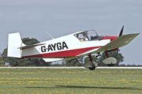 G-AYGA @ EGBK - 1956 Jodel D-117, c/n: 436