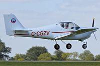 G-CGZV @ EGBK - 2012 Europa XS, c/n: PFA 247-13563