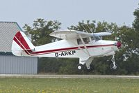 G-ARKP @ EGBK - 1961 Piper PA-22-108 Colt, c/n: 22-8364