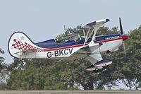 G-BKCV @ EGBK - 1990 EAA Acro Sport II, c/n: PFA 072A-10776