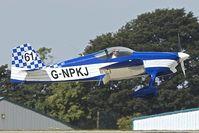 G-NPKJ @ EGBK - 1998 Vans RV-6, c/n: PFA 181-13138