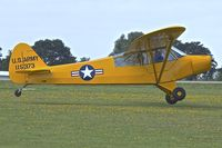 G-AYPM @ EGBK - G-AYPM (115373), 1951 Piper L-18C Super Cub, c/n: 18-1373