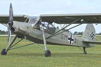 G-STCH @ EGBK - G-STCH (GM-AI), 1942 Fieseler Fi-156A-1 Storch, c/n: 2088