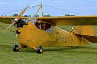 G-ADYS @ EGBK - 1935 Aeronca C3, c/n: A-600