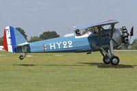 G-MOSA @ EGBK - 1952 Morane-Saulnier MS.317, c/n: 351