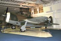 KL216 @ HENDON - Republic P-47D Thunderbolt at The RAF Museum, Hendon, June 2008. - by Malcolm Clarke