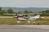 G-SBKS @ LFRQ - Cessna 206H Stationair, Quimper-Cornouaille Airport (LFRQ-UIP) - by Yves-Q