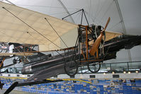 BAPC106 @ HENDON - Bleriot XI BAPC-106 at The RAF Museum, Hendon in June 2008. - by Malcolm Clarke