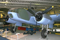 DD931 @ HENDON - Bristol 152 Beaufort at The RAF Museum, Hendon in June 2008. - by Malcolm Clarke