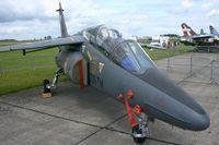 E128 @ LFOE - Dassault-Dornier Alpha Jet E, Evreux-Fauville Air Base 105 (LFOE) - by Yves-Q