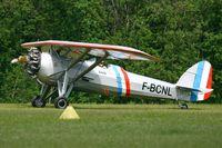 F-BCNL @ LFFQ - Morane Saulnier MS 317, La Ferté Alais Airfield (LFFQ) Air Show (Le Temps Des Hélices) - by Yves-Q