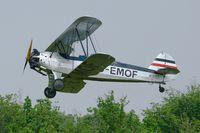 D-EMOF @ LFFQ - Focke-Wulf Fw-44J Stieglitz, La Ferté-Alais Airfield (LFFQ) - by Yves-Q