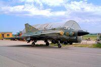 35555 @ ESOW - SAAB J-35F Draken [35555] Vasteras~SE 30/05/2002 - by Ray Barber