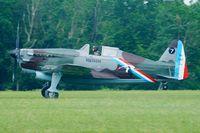 HB-RCF @ LFFQ - Morane Saulnier MS-412 (EKW D-3801), Swiss Historic Aircraft Collection, La Ferté-Alais Airfield (LFFQ) - by Yves-Q