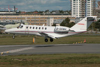 D-CCBH @ ESSB - Landing on runway 30. - by Anders Nilsson
