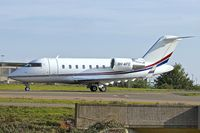 9H-AFC @ EGGW - 2007 Canadair CL-600-2B16 Challenger, c/n: 5713 at Luton - by Terry Fletcher