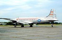 N31356 @ EGSX - Douglas DC-4-1009 [42914] (Aces High) North Weald~G 22/06/2003