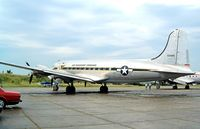 N44914 @ EGSX - Douglas C-54Q-1DC Skymaster [10630] (Aces High) North Weald~G 22/06/2003