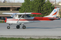 C-FXTX @ CYKZ - This small Cessna was starting a rolling takeoff on rwy 33. It was based at Brampton (CNC3) at the time. In late 2012 its reg was cancelled, so I wonder how its doing? It's was affectionately called Rosie.