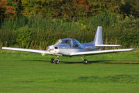 G-BOPT @ EGCB - Lancashire Aero Club - by Chris Hall