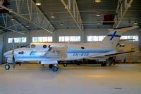 OH-BSB @ EFPO - Beech 300 Super King Air [FA-206] (Finnair) Pori~OH 15/05/2003