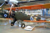 SZ-4 @ EFJY - Focke-Wulf Fw.44J Stieglitz [2895] Jyvaskyla-Tikkakoski~OH 16/05/2003