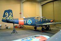 SE-KUC @ ESCF - Saab S.91C Safir [91-408] Linkoping-Malmen~SE 31/05/2002