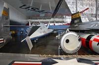 66-13551 @ KFFO - An X-1, X-15, and the XB-70 frame the Martin X-24. - by Daniel L. Berek