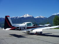C-FBLY @ CYRV - Hanging out in Beautiful British Columbia, Canada - by Roger Nickel