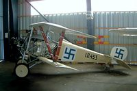 OH-U323 @ EFHV - Circa Reproductions Nieuport 17 Scout Replica [266] Hyvinkaa~OH 18/05/2003