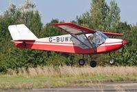 G-BUWK @ EGSV - Landing at Old Buckenham for A celebration of the life of Wing Commander Ken Wallis MBE. - by Graham Reeve