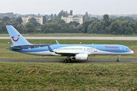 G-OOBP @ EGBB - 2000 Boeing 757-2G5, c/n: 30394 of Thomson