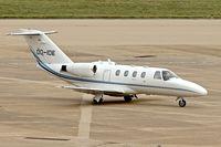 OO-IDE @ EGBB - 1993 Cessna 525 Citation Jet, c/n: 525-0037