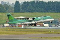 EI-FAV @ EGBB - Aer Arran / AerLingus ATR72 at Birmingham