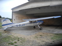 D-ELUV - D-ELUV CESSNA 170B  FIRST FLIGHTS  AFTER RESTORATION IN NORTHERN ITALY - by ANDREA CHIARI