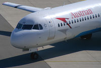 OE-LVI @ VIE - Austrian Airlines Fokker 100