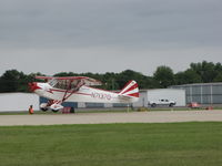 N71370 @ KOSH - just about to touch down at KOSH - by steveowen