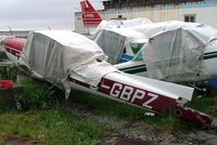 C-GBPZ @ CSS3 - Cessna 152 [152-80800] (Grondair) Les Cedres~C 18/06/2005. Wreck. - by Ray Barber