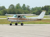 C-GGFX @ CYOO - This 1980 Cessna 152 is taxiing for takeoff at Oshawa Airport CYOO - by Ron Coates