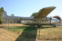 122 @ LFDN - Nord N-2501F Noratlas (63-WD), Static display, Rochefort-St Agnant AB 721 (LFDN-RCO) - by Yves-Q