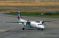 C-GVTA @ CYVR - Domestic terminal, Vancouver International airport. - by Jonathan Allen
