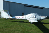 G-OACE @ EGBG - privately owned - by Chris Hall