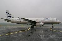 SX-DVM @ VIE - Aegean Airlines Airbus A320