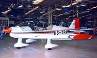 HS-TPA @ LFGI - Robin R.2160i Alpha Sport [323] (Civil Aviation Training Centre) Dijon-Darois~F 24/07/1998. Being prepared for delivery.