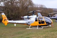 G-IBNH @ EGBC - G-IBNH   Aerospatiale SA.341C Gazelle HT2 [1033] Cheltenham Racecourse~G 12/03/2013