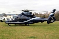 G-CGGD @ EGBC - Aerospatiale SA.365N2 Dauphin [6435] (Multiflight) Cheltenham Racecourse~G 16/03/2012