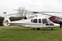 G-NIVA @ EGBC - Eurocopter EC.155B1 Dauphin [6642] Cheltenham Racecourse~G 16/03/2012
