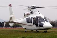 G-NIVA @ EGBC - Eurocopter EC.155B1 Dauphin [6642] Cheltenham Racecourse~G 14/03/2008