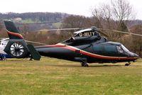 G-MLTY @ EGBC - G-MLTY   Aerospatiale AS.365N2 Dauphin [6431] Cheltenham Racecourse~G 13/03/2008